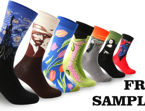 Free socks sample, Get it now!
