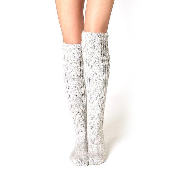 bd99e58138c knitted knee high socks