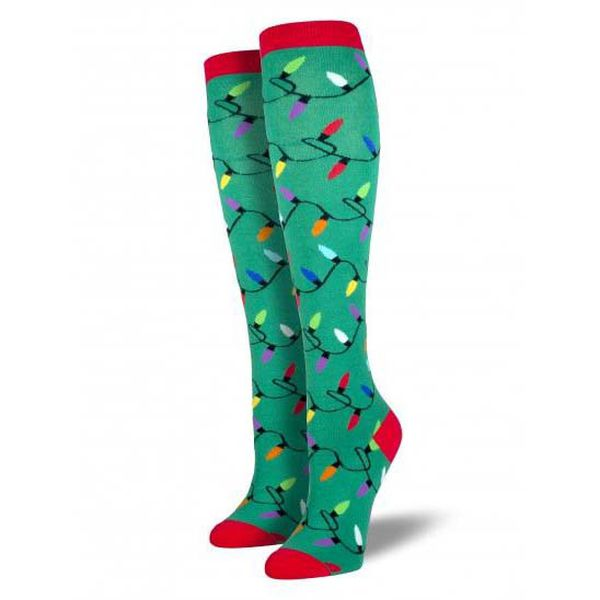 light up christmas socks support custom private label