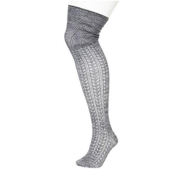 6edc1ce71 plus size over the knee socks