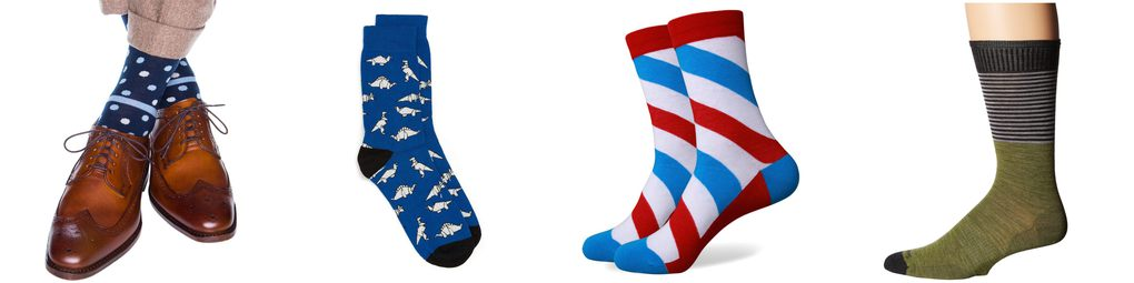 custom men's dress socks in us