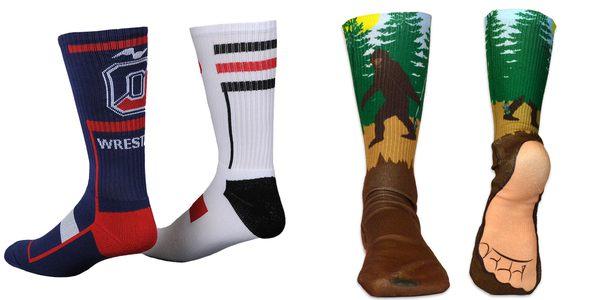 custom socks no minimum order, Support custom & private label