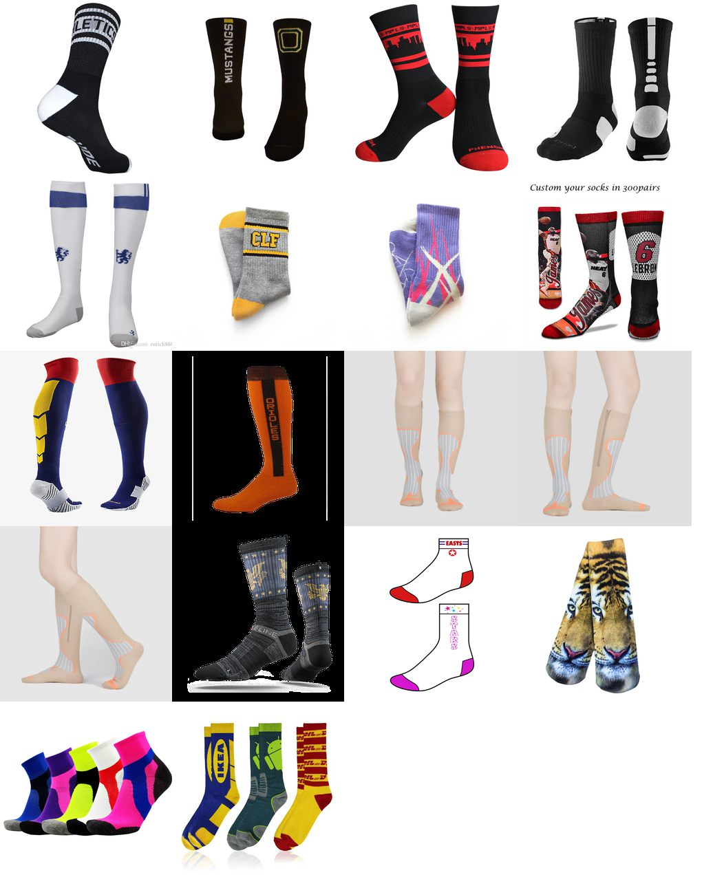 custom sport socks