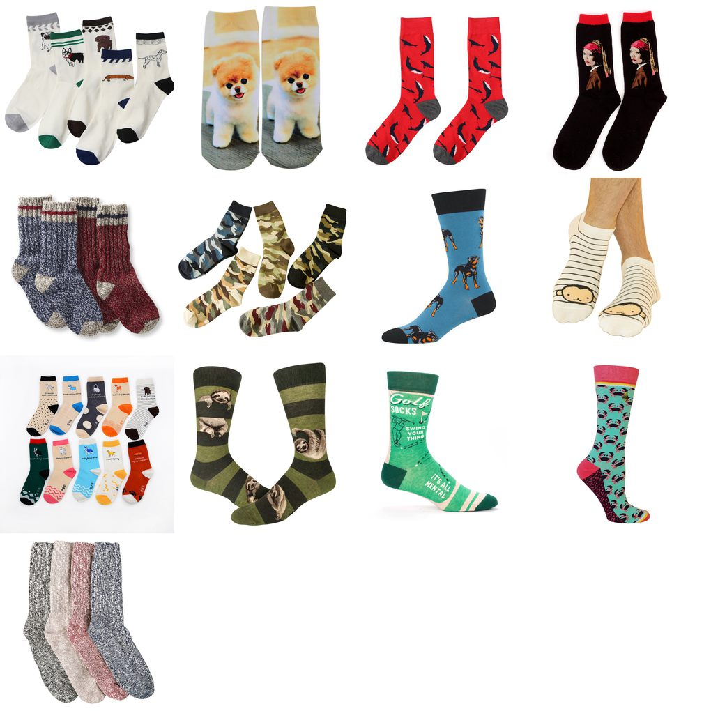 cute mens socks