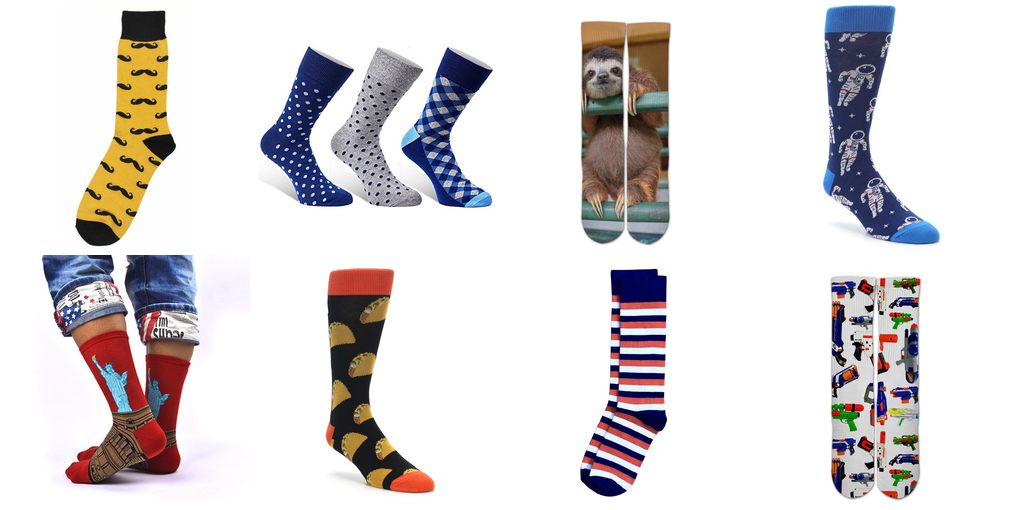 fun mens dress socks