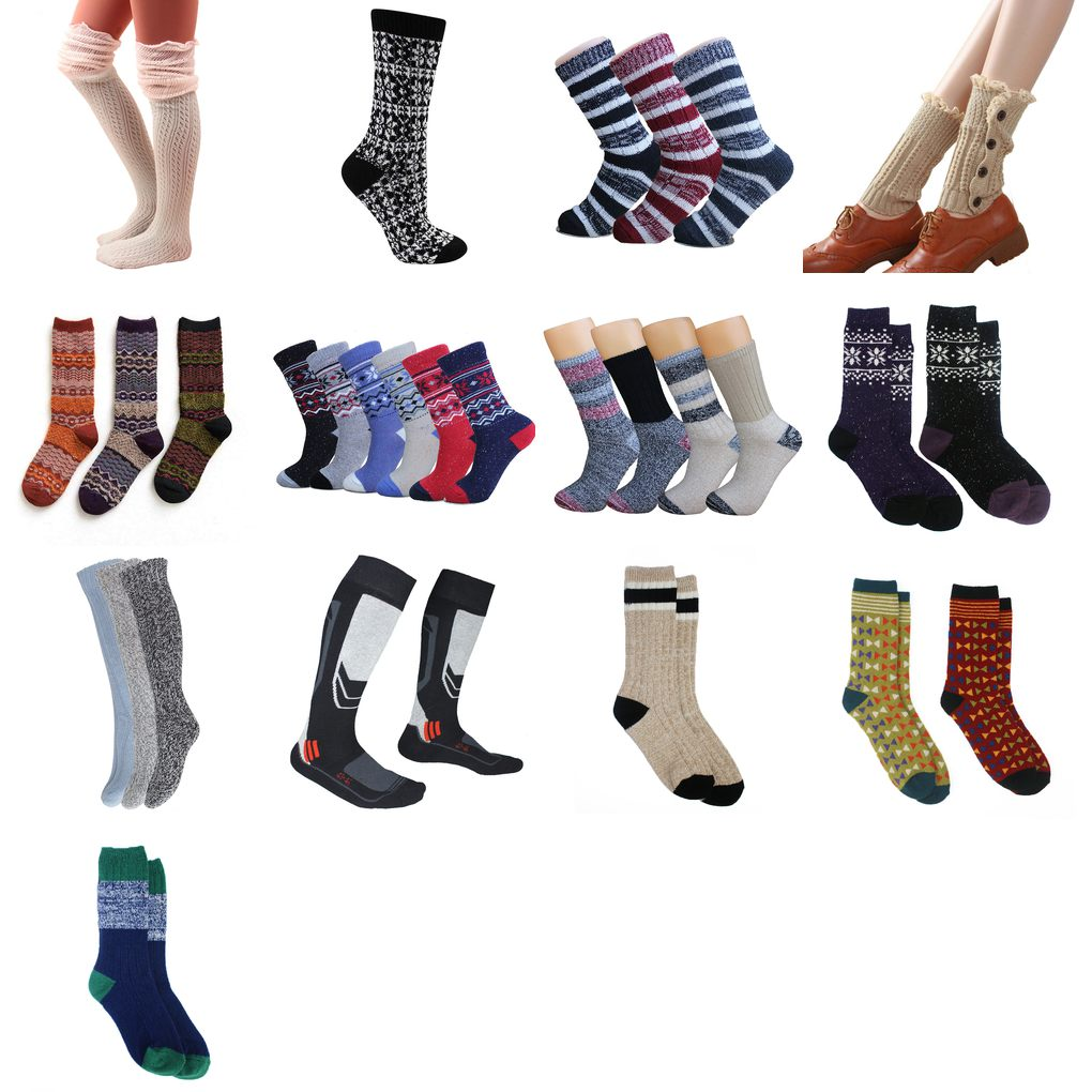 thick boot socks womens