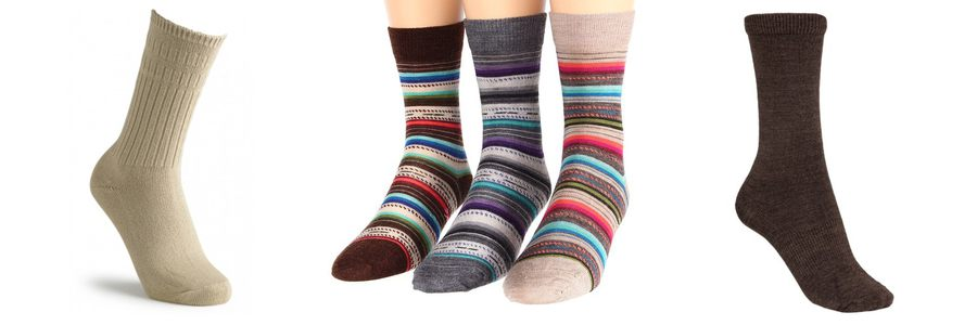 thin wool socks