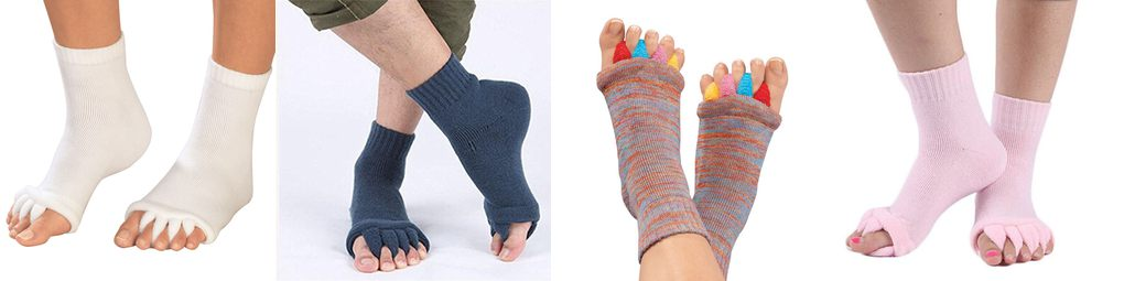 toes alignment socks