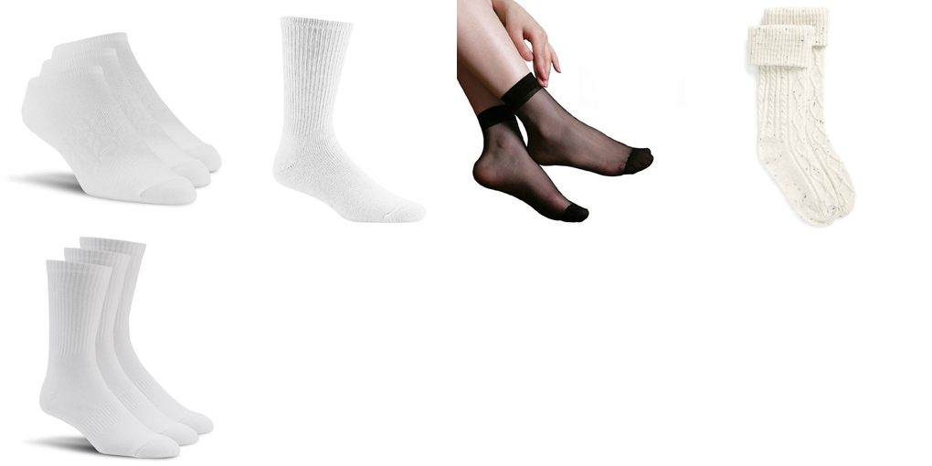 white socks women