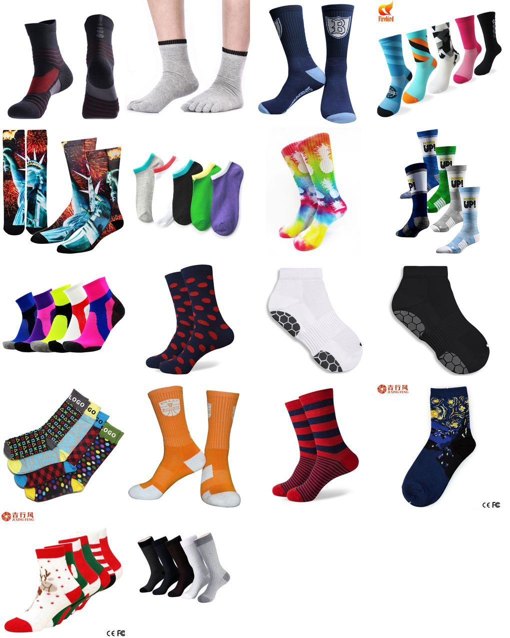 wholesale custom socks