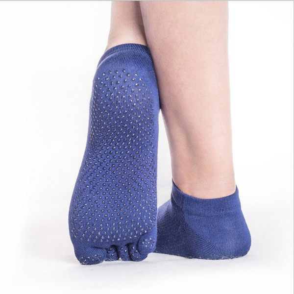 yoga socks half toe ankle grip